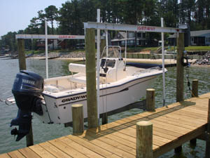 Aluminum Overhead Beam Boat Lifts – EastCoastBoatLifts com