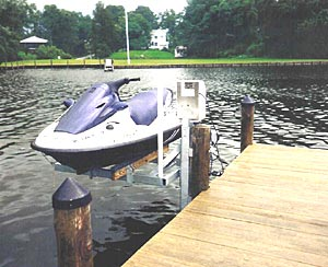 Boatlifts, Personal Watercraft, PWC, Low Profile Boat Lifts